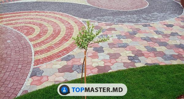 Укладка тротуарной плитки в Кишинёве - что предлагают современные мастера изображение 1