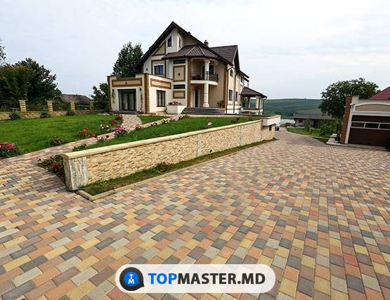 Укладка тротуарной плитки в Кишинёве и по Молдове