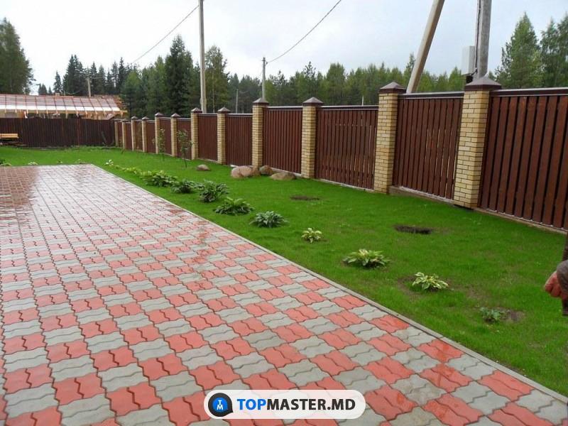 Мастера по укладке тротуарной плитки в Молдове