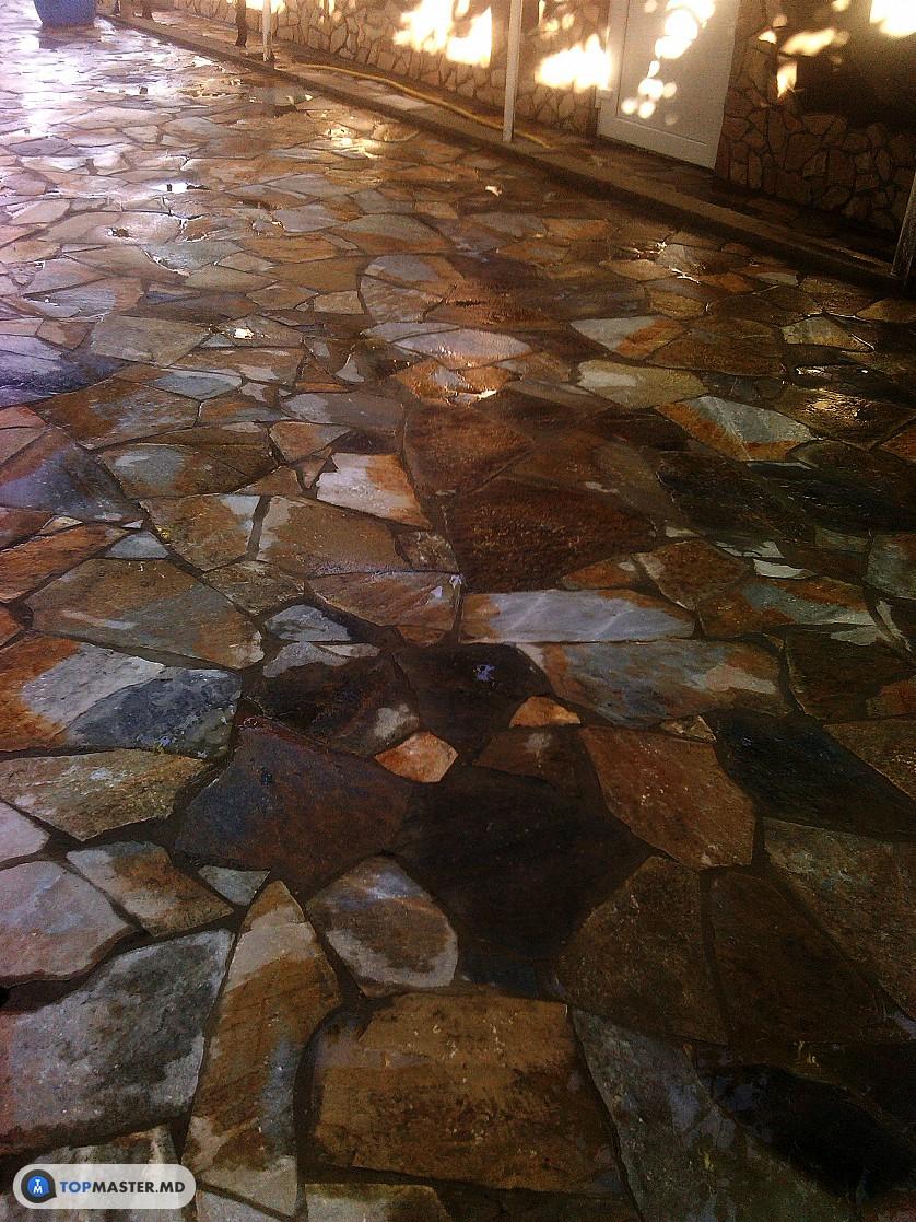 montarea pietrei naturale, decorative изображение 5
