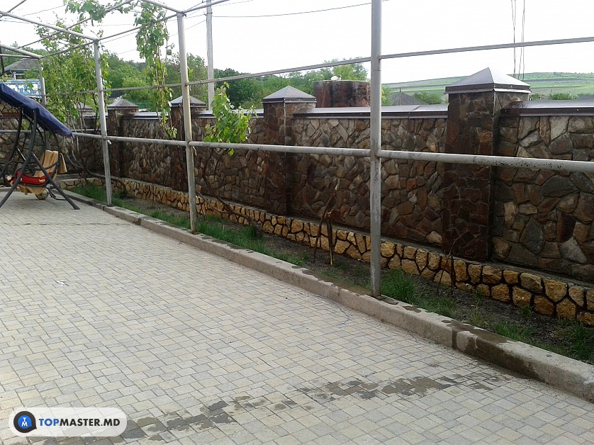 montarea pietrei decorative изображение 4