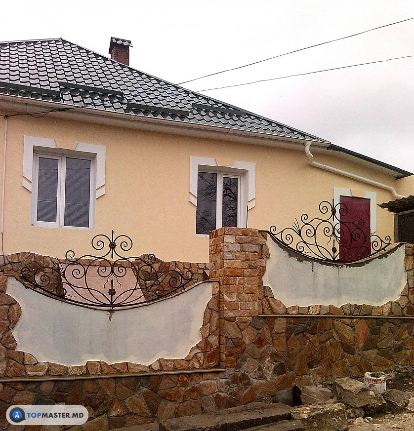 montarea pietrei decorative изображение 10