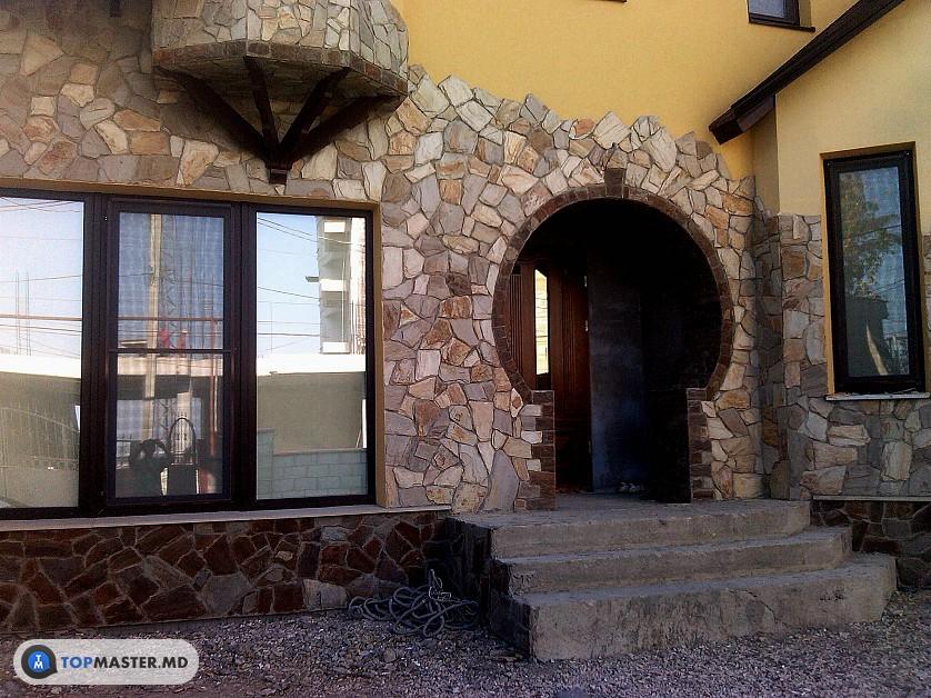 montarea pietrei decorative изображение 7