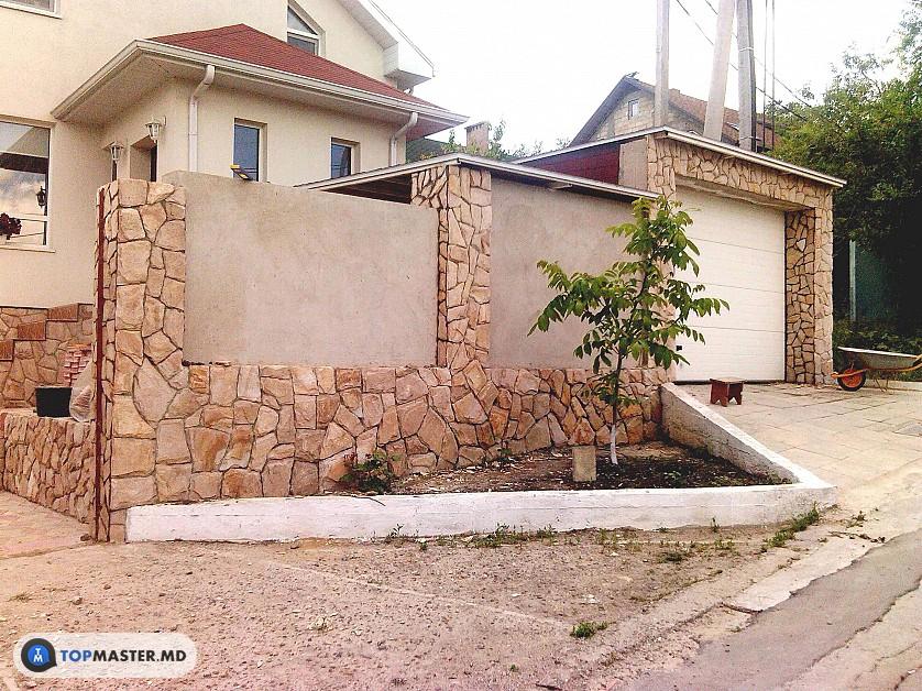 montarea pietrei naturale, decorative изображение 9