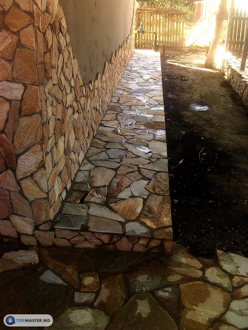 montarea pietrei naturale, decorative изображение 13