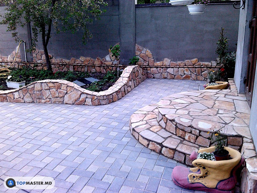montarea pietrei naturale, decorative изображение 6