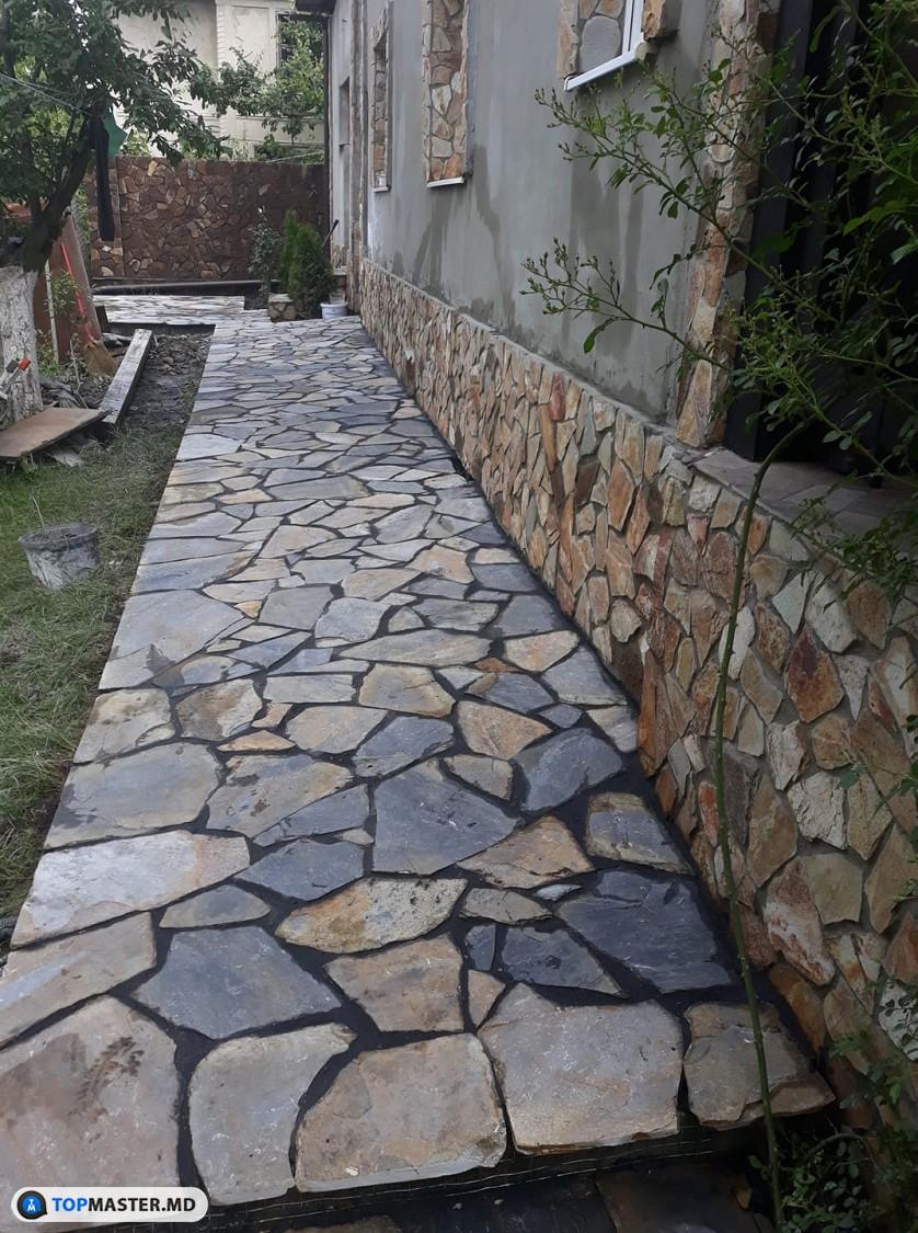 montarea pietrei naturale изображение 12
