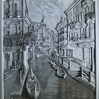 """Барельеф """"Венеция"""""""