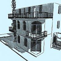 Salon cosmetologic - Anexa la casa de locuit