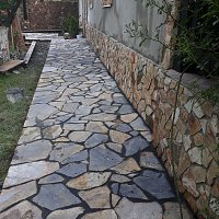 lucrari cu piatra naturala, decorativa