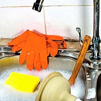 Desfundare chiuveta lavoar wc