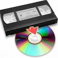 Перезапись-оцифровка видеокассет всех форматов на DVD диски с редактированием.