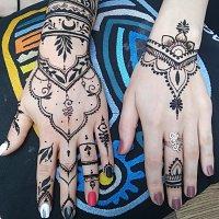Desene cu henna naturala /tatuaje temporare