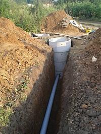 Копаем канализаций траншеи сливные ямы септики водопровод каналы погреба копаем техникой и вручную доставка установка бетонных колец установка труб обратная засыпка Алмазное резка бетона железобетона