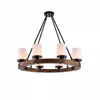Люстра Pendant Wood Lamp BK3051-P-6L 16084